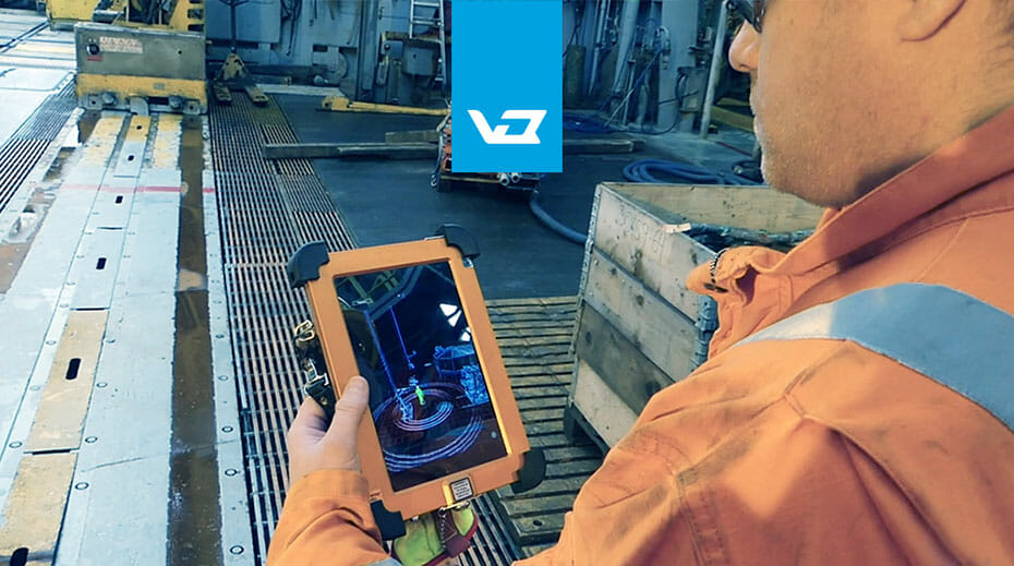 Vision IQ being used to track and monitor personnel to improve safety in offshore drilling