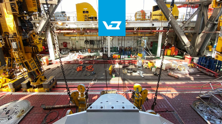 Vision IQ installed on an oil rig to help improve safety in offshore drilling