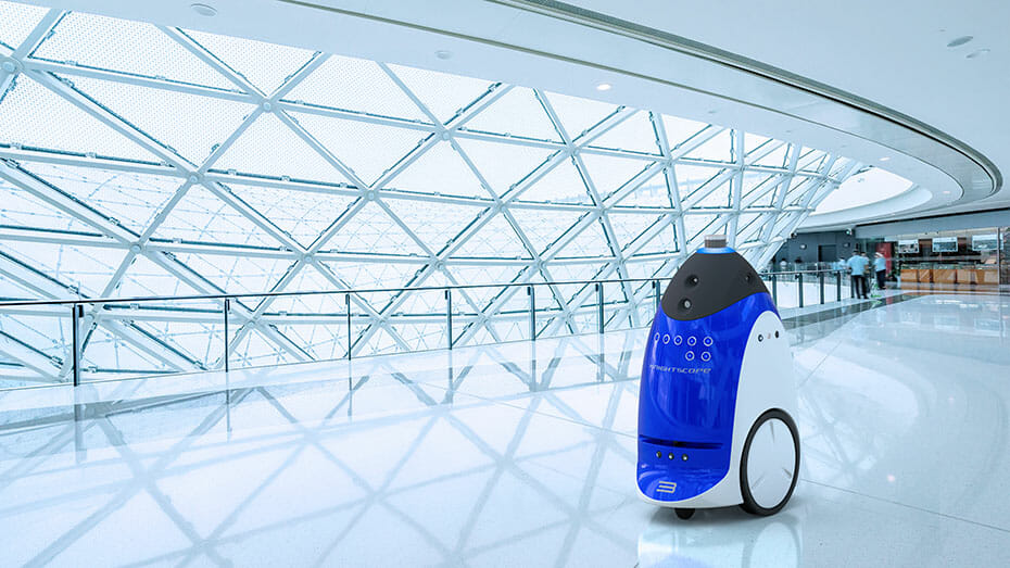 Knightscope K3 Indoor Autonomous Security Robot, Powered by Velodyne lidar