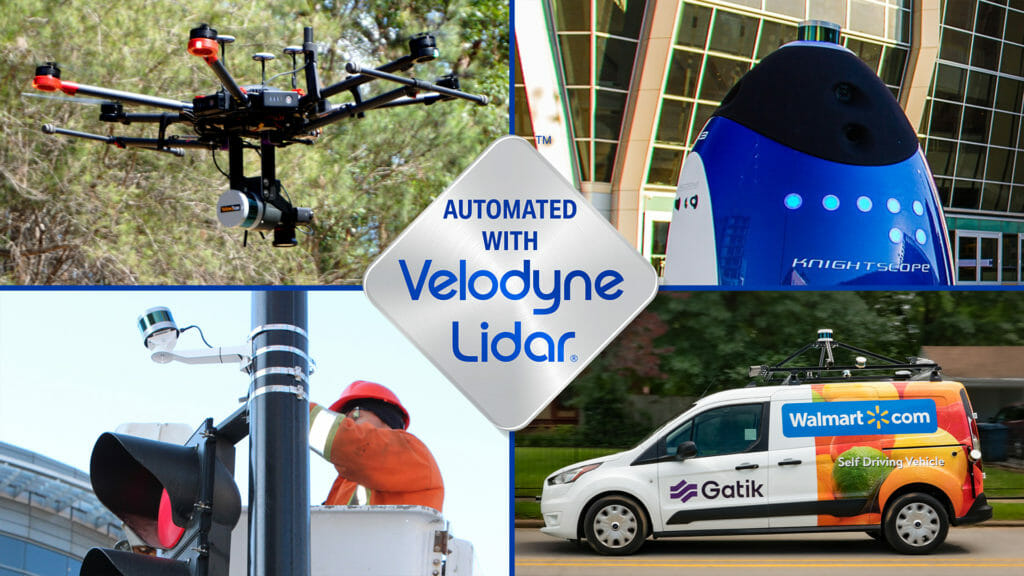The Automated with Velodyne ecosystem is made up of a diverse group of integrators using Velodyne's lidar in innovative and inspiring ways