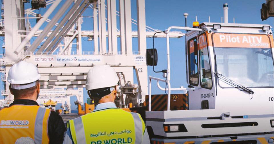 DGWorld's AITV, powered by Velodyne's lidar sensors, supporting seaport terminal operations at DP World's Jebel Ali Port