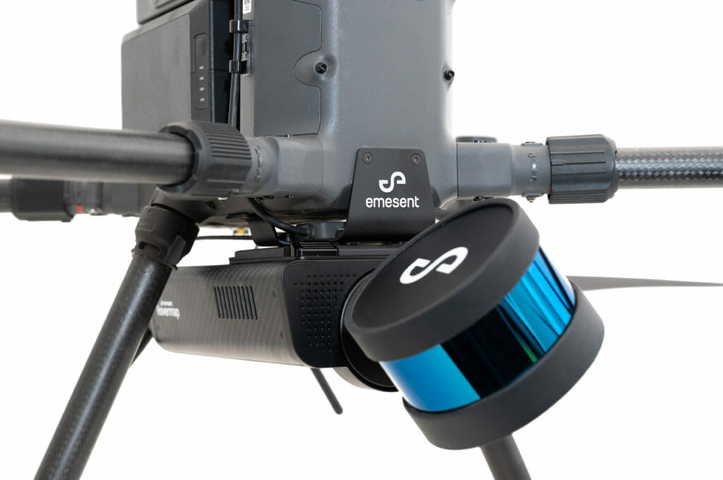 Emesent's Hovermap, equipped with Velodyne's Puck LITE™ sensors, is easily deployed, and able to switch between drone-mounted, handheld, vehicles, and other data capture techniques.