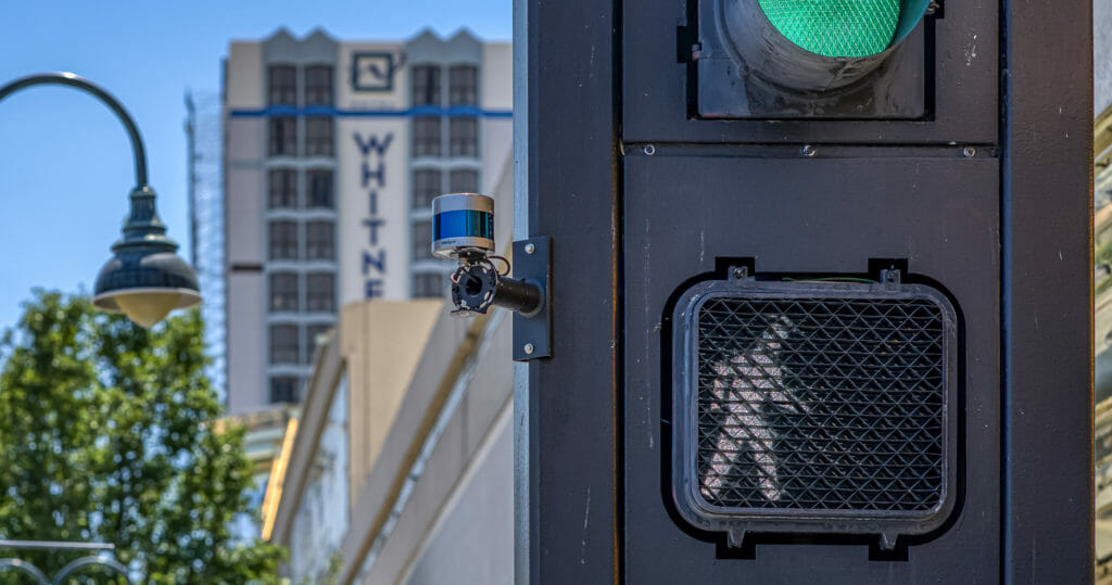 The University of Nevada, Reno's Nevada Center for Applied Research has placed Velodyne's lidar sensors at crossing signs and intersections to help improve traffic analytics, congestion management and pedestrian safety.