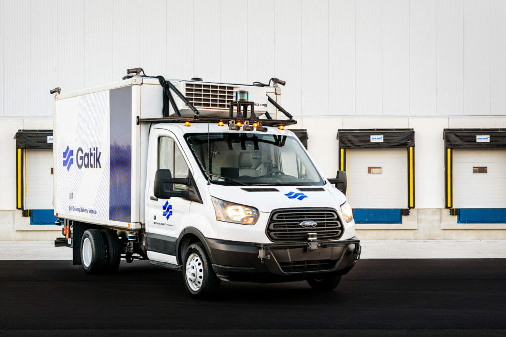 Gatik uses Velodyne's lidar sensors to support short-haul logistics with precise, reliable navigation for real-time autonomous operations.