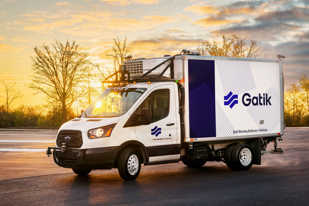 Gatik uses Velodyne's lidar sensors as a key part of a fully redundant sensor suite to deliver goods safely and efficiently between micro-fulfilment centers, dark stores and retail locations – a logistics flow known as the middle mile.