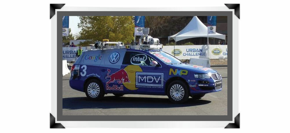 The HDL-64E lidar sensor was on five of the six vehicles that finished the DARPA 2007 Urban Challenge race